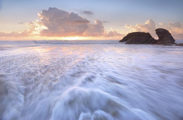Latarni plaży portu szybko wspaniały Zdjęcia stock © lovleah