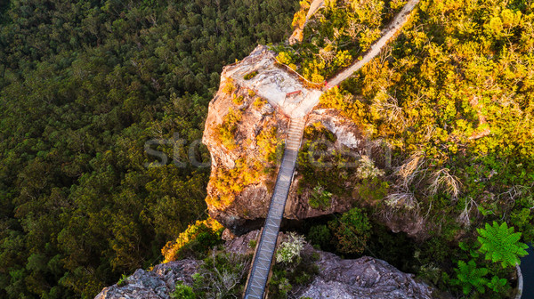 Bridge to lookout Blue Mountains Australia Stock photo © lovleah