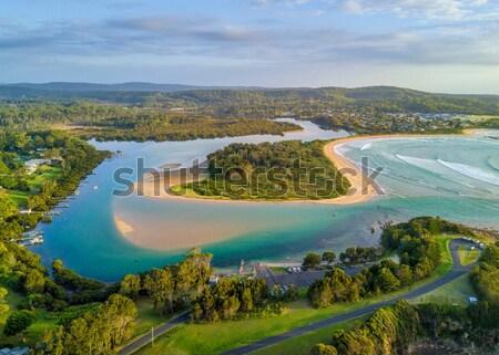 Mossy Point Views Australia Stock photo © lovleah