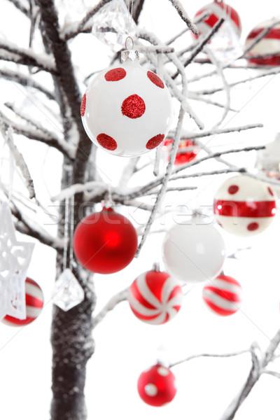 Christmas baubles ornaments decoration Stock photo © lovleah