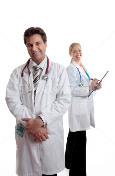 Caring doctors or medical professionals Stock photo © lovleah
