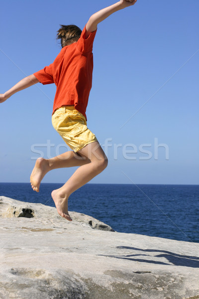 Leap for Joy Stock photo © lovleah