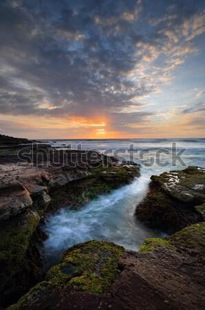 Beautiful coastal sunrise Stock photo © lovleah