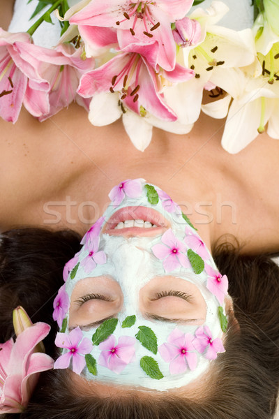 Floral Beauty Spa Treatment Stock photo © lovleah