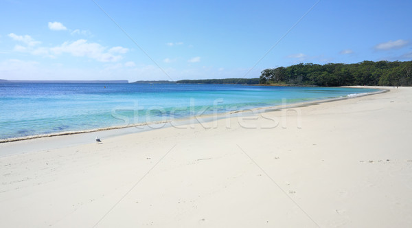 Pristine water at Greenfields Beach Jervis Bay Stock photo © lovleah