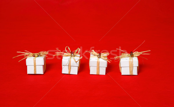 Little white gifts Stock photo © lovleah