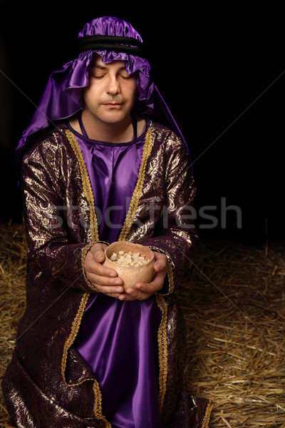 Holy Frankincense Offering Stock photo © lovleah