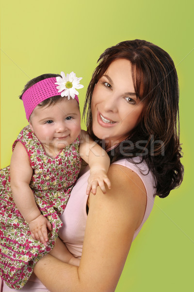 Beautiful mother and baby Stock photo © lovleah