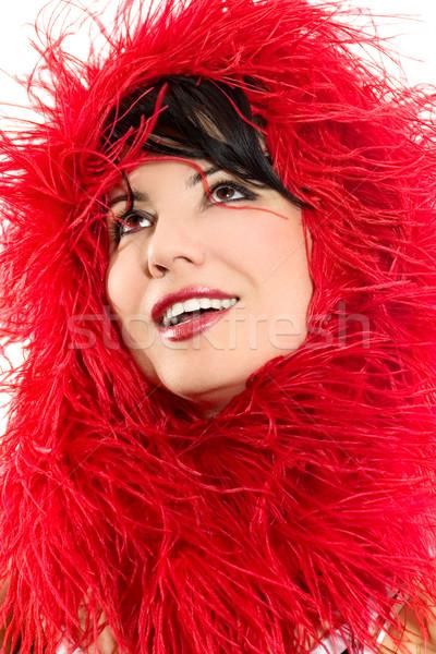 Attractive Fashion woman Stock photo © lovleah