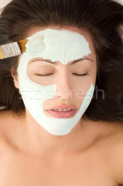 Mask Application Stock photo © lovleah