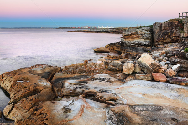 Dawn at Botany Bay, Australia Stock photo © lovleah