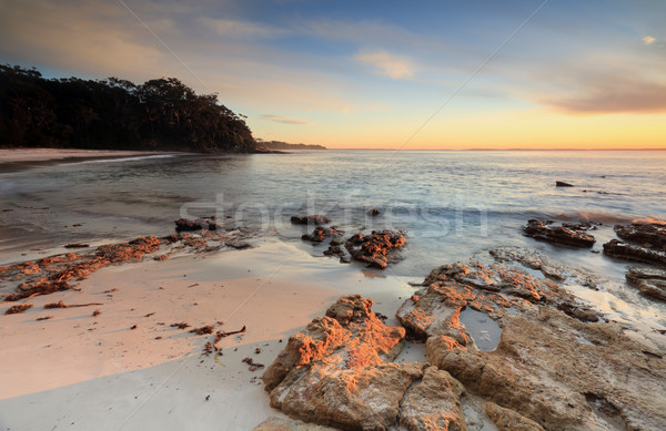 Beautiful beaches Jervis /bay Stock photo © lovleah
