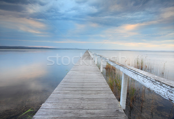 Long Jetty Serenity, Australia Stock photo © lovleah