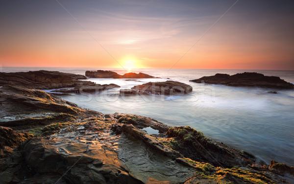 Bermagui Coast Australia Stock photo © lovleah