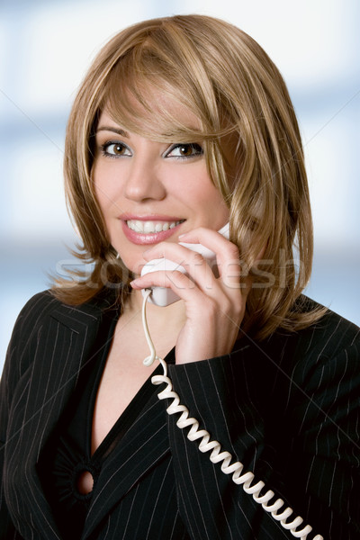 Busy Executive businesswoman Stock photo © lovleah