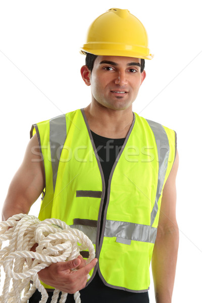 Construction Worker Stock photo © lovleah