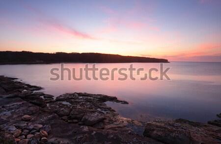 Sunrise Botany Bay Australia Stock photo © lovleah
