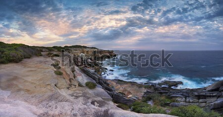 Cape Solander Panorama Australia Stock photo © lovleah