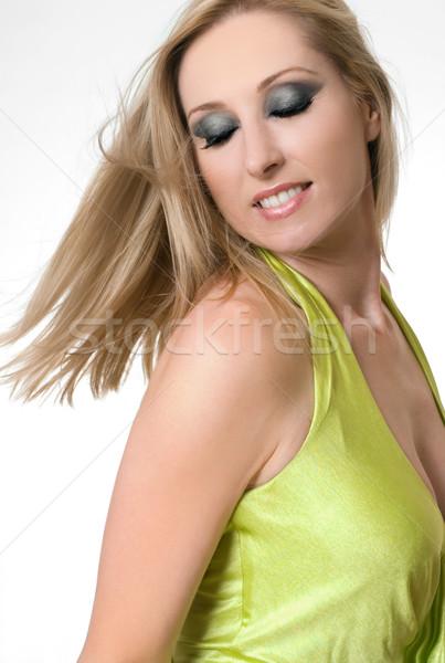Healthy hair toss Stock photo © lovleah