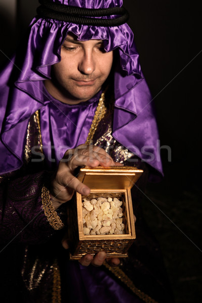 Gift of Frankincense Stock photo © lovleah