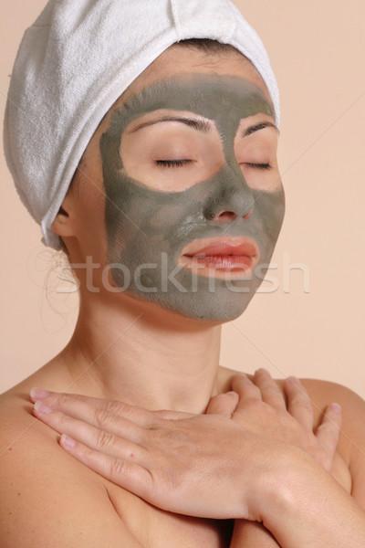 Piękna kobiet pokoju czystość kobieta piękna Zdjęcia stock © lovleah