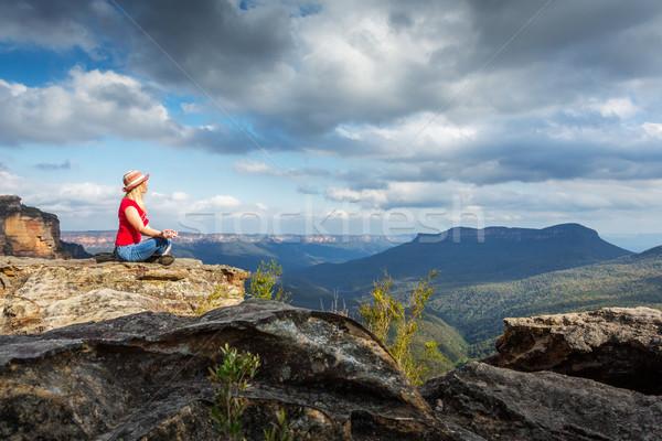 Mountain Meditations Stock photo © lovleah