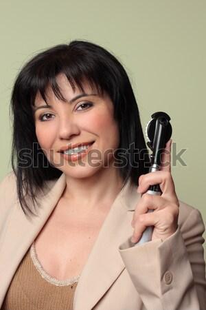 Female smiling portrait Stock photo © lovleah