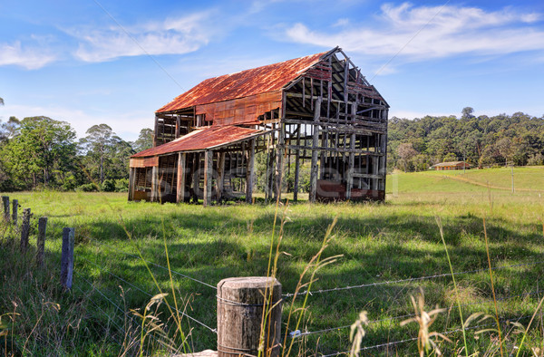 Ramshackle rustic glory- the old barn South Durras Benandarah Stock photo © lovleah