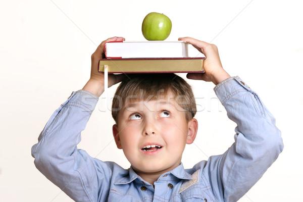 Scholastic boy Stock photo © lovleah