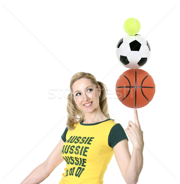 Aussie Sports Stock photo © lovleah