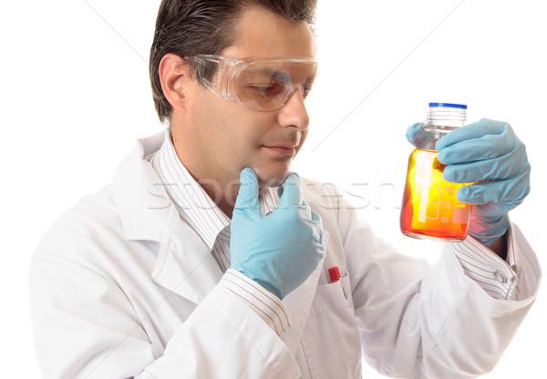 Analysing chemical mixtures Stock photo © lovleah