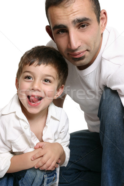 Father and son Stock photo © lovleah