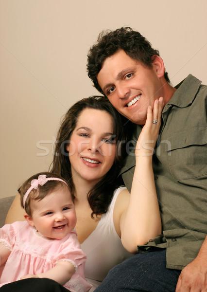 Happy family Stock photo © lovleah
