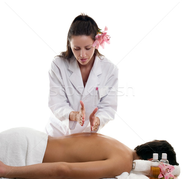 Massage Therapies - Hacking Stock photo © lovleah