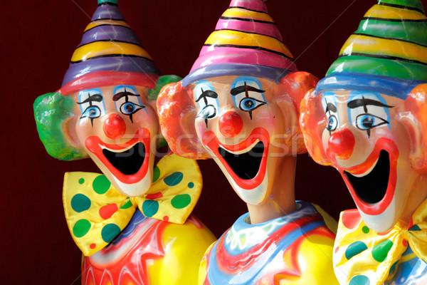 Carnaval jogo abrir foco meio Foto stock © lovleah
