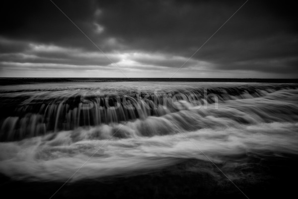 Bilgola Rockshelf tidal flows Stock photo © lovleah