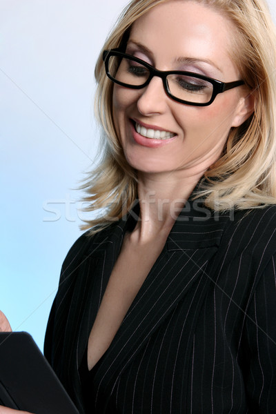 Working Business Woman Stock photo © lovleah