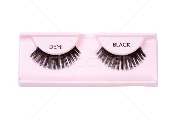 Black demi lashes Stock photo © lovleah