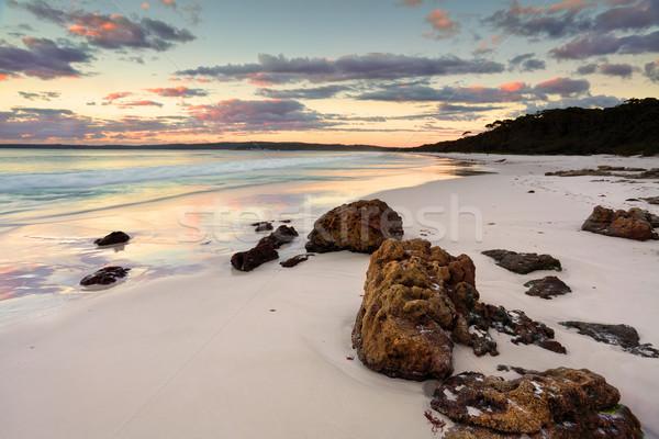 Hyams Beach Sunrise NSW Australia Stock photo © lovleah