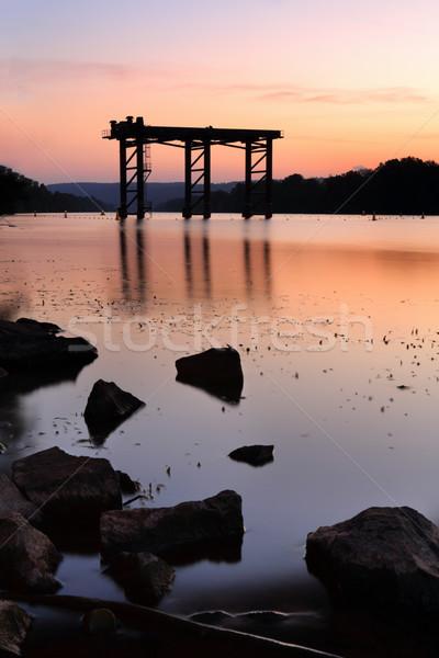 Sunset Nepean River Stock photo © lovleah