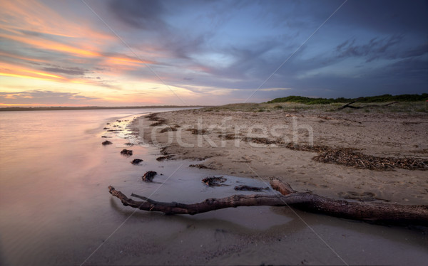 Sunset glow at  Bonna Point NSW Australia Stock photo © lovleah