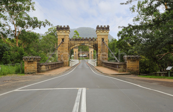 Hampden Bridge Kangaroo Valley Stock photo © lovleah