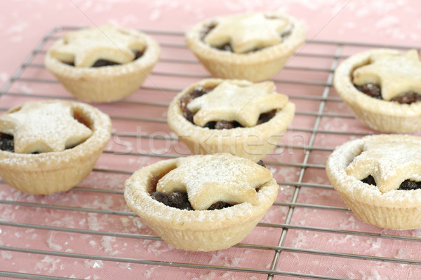 Fruity mince pies tarts Stock photo © lovleah