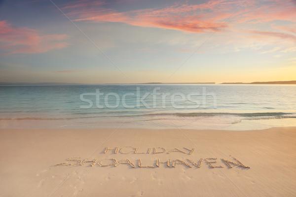 Holiday Shoelhaven South Coast Australia Stock photo © lovleah