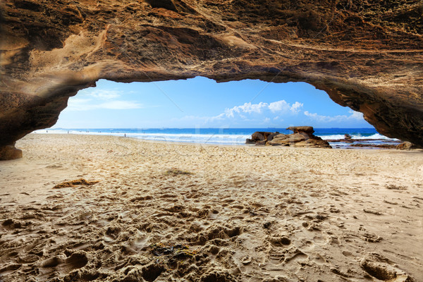Caves Beach, NSW Australia Stock photo © lovleah