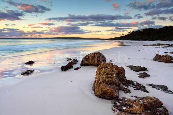 Hyams Beach Sunrise NSW Australia Stock photo © lovleah