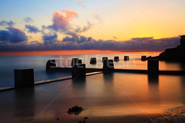 Stock photo: Sunrise Paradise, Coogee Baths, Ausralia