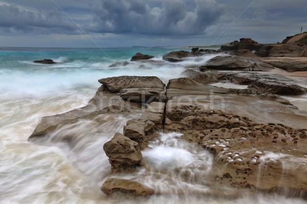 Ocean in Motion Stock photo © lovleah