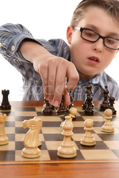 Chess move Stock photo © lovleah