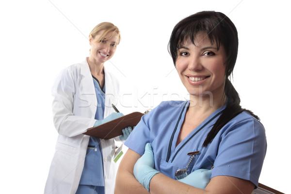 Doctors or nurses Stock photo © lovleah